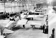 Boulton Paul Defiant being assembled at the BP Wolverhampton Plant, Rolls Royce Merlin, Bristol Beaufighter, Ejection Seat, Gun Turret, De Havilland Mosquito, Tech Background, Ww2 Aircraft, Royal Air Force, Royal Navy