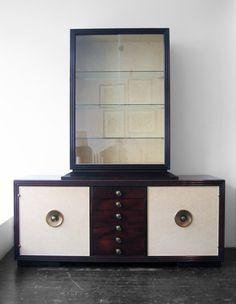 Paul Frankl buffet & cabinet.  Drooool.