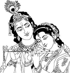 Gods clipart radha krishna - pin to your gallery. Explore what was found for the gods clipart radha krishna Art Drawings For Kids, Outline Drawings, Easy Drawings, Radha Krishna Images, Krishna Art, Radhe Krishna, Hanuman, Krishna Drawing, Krishna Painting
