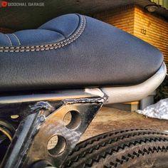 Morten Moller's Pantah http://goodhal.blogspot.com/2013/10/morten-mollers-pantah.html #CafeRacer #Ducati #MortenMoller #Motorcycle #Pantah