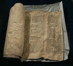 This Torah scroll was rescued from a burning synagogue in Leipzig, Germany on Kristallnacht. It was hidden in the attic of the city's university library together with other scrolls and was rediscovered by chance during renovations. Religions Du Monde, Jewish Men, Holocaust Memorial, Jewish History, Lest We Forget, Inspirational Books, Torah, Judaism, World War Two