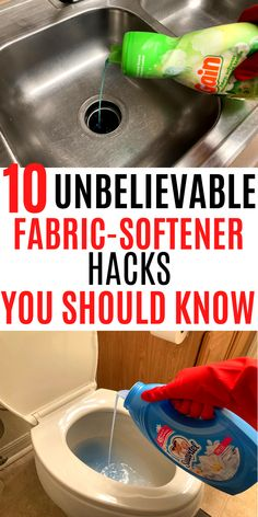 THE MOST UNUSUAL WAYS YOU CAN CLEAN YOUR HOME WITH ANY FABRIC SOFTENER
