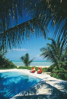 I want lay on the beach in the sun, in a beautiful tropical location...far, far away.