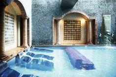 Costa Brava. Quien se aloje en una de las 49 habitaciones (desde 170 euros) del Sallés Hotel & Spa Cala del Pi (Platja d'Aro) puede disfrutar de un baño en su agradable piscina. Foto: Germán Saiz