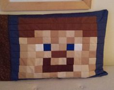 Minecraft Steve Pillowcase- Twin Size