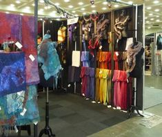 Follow the link to the Arts Business Institute's post on  how to get the most out of you booth display. Insightful pointers!