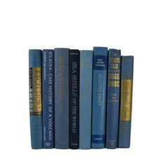 Blue Vintage Books ,   Decorative Books ,  Wedding Decor,  Gift For Book Lover, Gift for Her , Home Decor,  Photography Prop