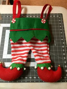 use reagan's christmas clothes for next year's stocking