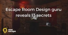 Designer of of 250 Escape Rooms reveals his secrets and gives advice to those who are managing or developing Escape Rooms worldwide Escape Room Themes, Escape Room Design, Escape Room Diy, Escape Room Puzzles, Team Building Exercises, Hero's Journey, Room Planning, Activity Days, The Secret