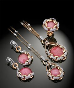 Simply gorgeous ~ CORTINA COLLECTION by Falcinelli Italy Jewels.