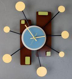 unique pendulum clock | ... Modern Wall Clock Design: Unique and interesting modern wall clocks