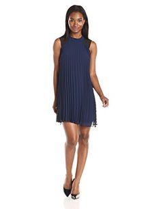 BCBGeneration Women's Blue Lace Inset…