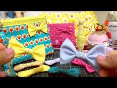 Aprenda a fazer lacinho com tecido!!! - YouTube