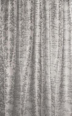 Pihlaja Jacquard Ready Made Curtain in Grey by Vallila. RRP c.100e. Vallila ltd. was established in 1935 in Finland by a Swiss business man Otto Berner.