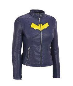 NEW SIZES Batgirl Cosplay Jacket by Brefess on Etsy