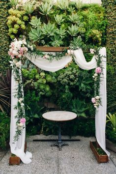 Romantic Ceremony arch