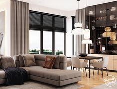 Project Warm | Minsk, Belarus on Behance Modern Luxury Bathroom, Modern Bathroom Design, Modern House Design, Leaving Room Ideas, Kitchen Design Open, Laundry Room Design, Apartment Interior Design, Cool House Designs, Living Room Inspiration
