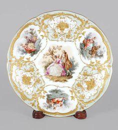 3360: KPM Porcelain Cabinet Plate : Lot 3360