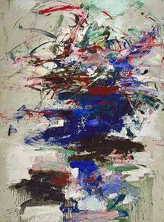 "Joan Mitchell, ""Maryln"", 1960."