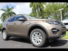 2016 Land Rover Discovery Sport HSE in beautiful Kaikoura Stone Metallic http://www.landroverpalmbeach.com/