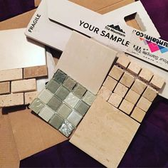 Gorgeous and very affordable samples from Tile Mountain read more about it them at www.theshrewdlife.co.uk #home #homedecor #decor #decorating #DIY #bathroom #tiles #samples #tilemountain #property #instahome #free