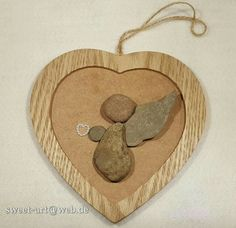 #watchoverme #angel #stone #kieselstein #pebbleart #heart #herz
