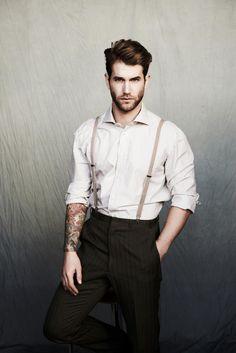 Remarkable Arthur Lockhart Chadwick Models Male Models We Love Short Hairstyles Gunalazisus
