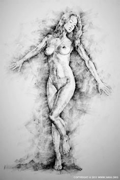 www.54ka.org :: Figure Drawing by Dimitar Hristov - 54ka SketchBook :: drawing, charcoal, sketch, female, art, figure