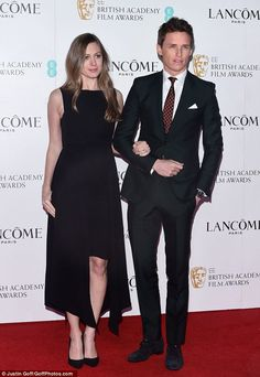 Two in a row? The star could pick up his second consecutive BAFTA on Sunday for the raved-about portrayal, after winning the gong for The Theory of Everything this time last year