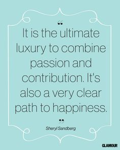 Happiness Quotes: Famous Inspirational Quotes From Women and Celebrities: Inspired: glamour.com #happiness #quotes