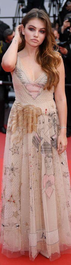 Thylane Blondeau in Dior -Cannes Film Festival 2017