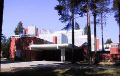 Arkkitehti Juha Leiviskä, 1975: Pyhän Tuomaan kirkko, Oulu. Kuva: Sirpa Vähäaho-Kuusisto. Opera House, Building, Buildings, Construction, Opera