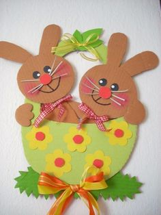Arts And Crafts Style Furniture Easter Arts And Crafts, Easter Crafts For Kids, Spring Crafts, Diy And Crafts, Paper Crafts, Hoppy Easter, Easter Bunny, Easter Activities, Easter Baskets