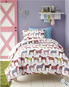 Painted Ponies Percale: Oh this is very good. Not going to lie if it weren't for my husband I would so have these