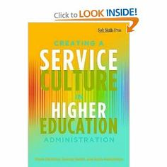 """Service delivery is part and parcel of every higher education professional's job, both to improve service to students and to each other as """"internal customers"""". Until now higher education professionals have had to rely on books and training designed for the business sector. This book is the first to specifically address the needs of higher education professionals across a wide range of administrative functions within this environment."""