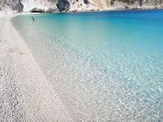 The amazing waters of Myrtos beach, Kefalonia island, Greece. Noneed2buy.com redecorating online with small fee