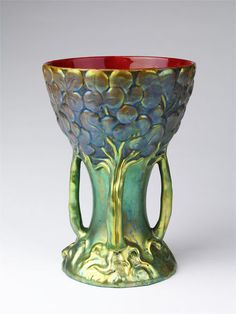 Vase | Zsolnay Ceramic Works | V&A Search the Collections