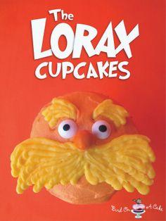 Dr. Seuss' The Lorax Cupcakes {Bird On A Cake}