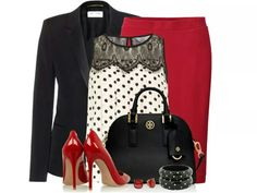 Classic Red and Black