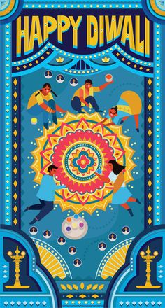 Diwali Diya, Diwali Gifts, Truck Art Pakistan, Diwali Poster, Happy Diwali Images, Diwali Greetings, Posca Art, Gift Box Design, Indian Art Paintings