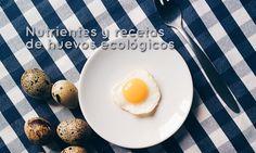 Tipos de huevos, sus nutrientes y cinco recetas con huevos ecológicos