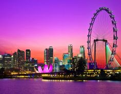 singapore skyline- this picture looks incredible