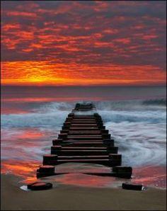 Kevin Flemming's Sunrise Sky in Rehoboth Beach DE