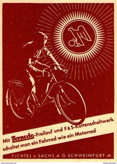 Original-Werbung/ Anzeige 1941 - TORPEDO FREILAUF / FICHTEL & SACHS - Ca. 70 X 100 Mm - Werbung