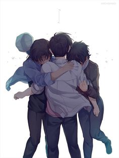 Kudo Shinichi,Heiji Hattori and Sera Conan Comics, Detektif Conan, Magic Kaito, Anime Art Girl, Anime Guys, Anime Demon, Manga Anime, Heiji Hattori, Super Manga