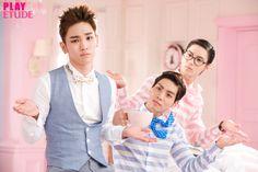 The Fairytale of the Rosy Tint Lips called '&Rose' by Etude House Jonghyun, Shinee, Group Of Five, Kim Kibum, Etude House, Lip Tint, Korean Skincare, Pop Group, Fairy Tales
