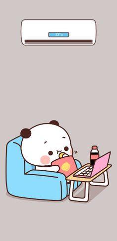 微博 Panda Wallpaper Iphone, Cute Desktop Wallpaper, Cute Panda Wallpaper, Panda Wallpapers, Bear Wallpaper, Kawaii Wallpaper, Cute Cartoon Wallpapers, Cute Bunny Cartoon, Cute Cartoon Pictures
