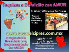 En Febrero Festejando Nuestra Pasion por lo que nos GUSTA HACER www.tacoselcipres.com.mx
