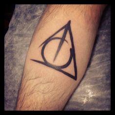 Tatuagem Felipe Neto. Harry Potter