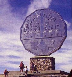 The Big Nickel in Sudbury, Ontario. A definite Road Trip! Canadian Things, I Am Canadian, Canadian Travel, Visit Canada, O Canada, Sudbury Canada, Places To Travel, Places To Go, Ontario Travel